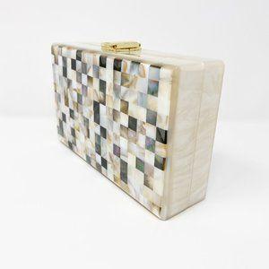 Closet Rehab Bags - Acrylic Party Box in Shell